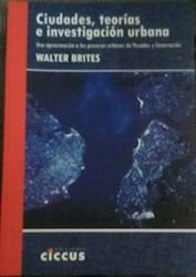 Libro Ciudades , Teorias E Investigacion Humana