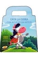 Papel CATA LA CEBRA CON SU VESTIDO NUEVO (COLEECION LA SELVA) (CARTONE)