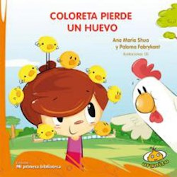 Libro Coloreta Pierde Un Huevo