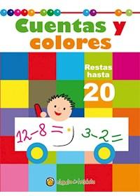Papel Cuentas Y Colores - Restas Hasta 20