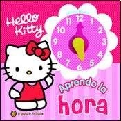 Papel Hello Kitty Aprendo La Hora