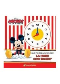 Papel Aprendo La Hora Con Mickey