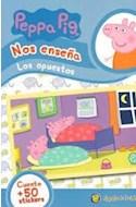 Papel PEPPA PIG NOS ENSEÑA LOS OPUESTOS [CUENTO Y MAS DE 50 STICKERS] (MIS PERSONAJES FAVORITOS)