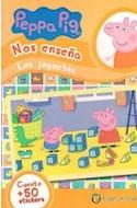 Papel PEPPA PIG NOS ENSEÑA LOS JUGUETES [CUENTO Y MAS DE 50 STICKERS] (MIS PERSONAJES FAVORITOS)