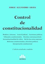 Libro Control De Constitucionalidad