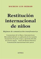 Libro Restitucion Internacional De Ni/Os