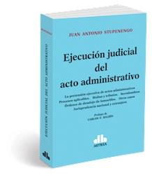 Libro Ejecucion Judicial Del Acto Administrativo