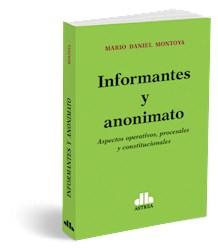 Libro Informantes Y Anonimato