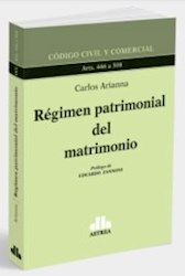 Libro Regimen Patrimonial Del Matrimonio