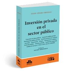 Libro Inversion Privada En El Sector Publico