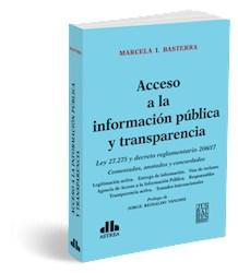 Libro Acceso A La Informacion Publica Y Transparencia