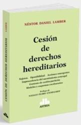 Libro Cesion De Derechos Hereditarios