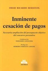 Libro Inminente Cesacion De Pagos