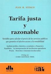 Libro Tarifa Justa Y Razonable