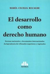 Libro El Desarrollo Como Derecho Humano