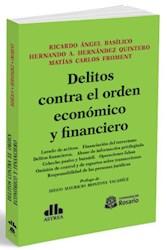 Libro Delitos Contra El Orden Economico Y Financiero