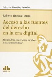 Libro Acceso A Las Fuentes Del Derecho Digital
