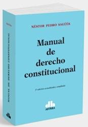Libro Manual De Derecho Constitucional