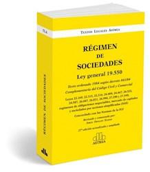 Libro Regimen De Sociedades