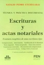 Libro Escrituras Y Actas Notariales