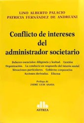 Libro Conflicto De Intereses Del Administrador Societario