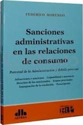 Libro Sanciones Administrativas En Las Relaciones De Consumo