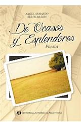 E-book De ocasos y esplendores : poesía