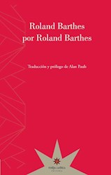 Libro Roland Barthes Por Roland Barthes