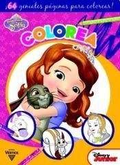 Papel Colorea Princesita Sofia