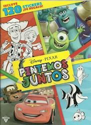 Papel Disney Pixar Pintemos Juntos