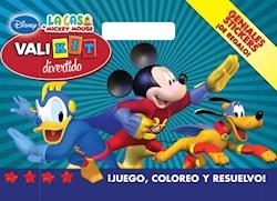 Papel Nº 4 Disney La Casa De Mickey Mouse Val Kit Divertido