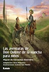 Libro Las Aventuras De Don Quijote De La Mancha Para Niños
