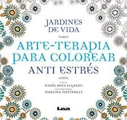 Papel Jardines De Vida - Arte-Terapia Para Colorear