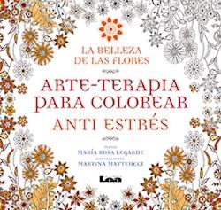 Papel Belleza De Las Flores, La - Arte-Terapia Para Colorear