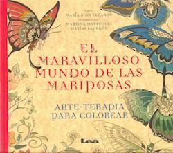 Papel Arte Terapia Para Colorear - El Maravilloso Mundo De Las Mariposas