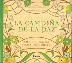 Papel Arte Terapia Para Colorear - La Campiña De La Paz