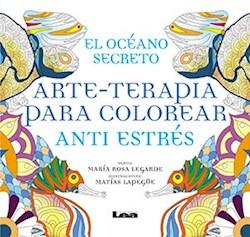 Papel Oceano Secreto, El - Arte-Terapia Para Colorear