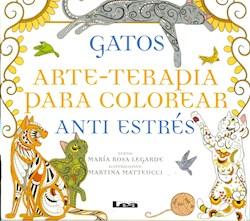 Papel Gatos - Arte-Terapia Para Colorear
