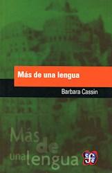 Libro Mas De Una Lengua