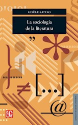Papel Sociologia De La Literatura, La