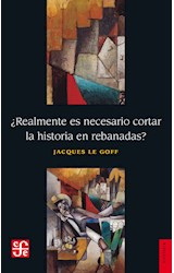 Papel REALMENTE ES NECESARIO CORTAR LA HISTORIA EN REBANADAS