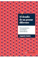 Papel DESAFIO DE UN PENSAR DIFERENTE PENSAMIENTO SOCIEDAD Y NATURALEZA