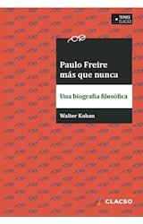 Papel Paulo Freire más que nunca
