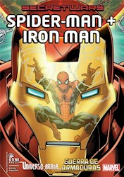 Libro Secret Wars  Spider-Man + Iron Man
