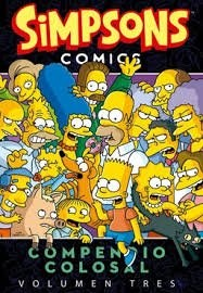 Libro Simpsons Comics  Compendio Colosal Vol. 3
