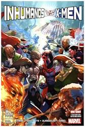 Libro Inhumanos Vs. X-Men  Tomo Unico
