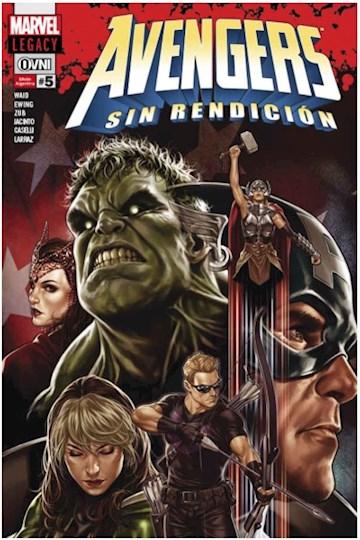 Papel Legacy - Avengers Sin Rendición