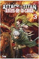 Papel ATTACK ON TITAN 3 (ANTES DE LA CAIDA) (BOLSILLO)