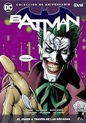 Papel Coleccion 80 Años Batman, El Joker A Traves De Las Decadas
