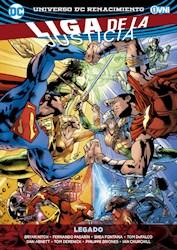 Papel Liga De La Justicia, Legado  -Universo Renacimiento -